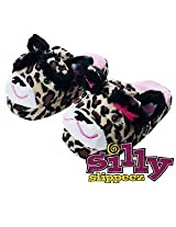 Silly Slippeez Lucky Leopard - Medium 1 Ea