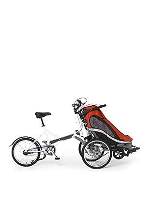 Schiano Cicli Dreirad mit Kindertransport Childpod 20 rot
