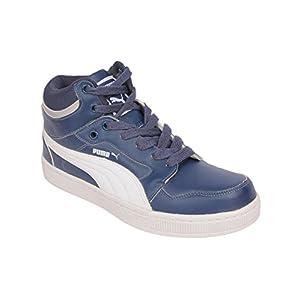 Puma Men's Rebound Insignia Blue and White Casual Sneakers - 8 UK/India (42 EU)