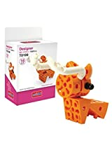 Science Unlimted Block Transformers Design Orange Cow