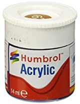 Humbrol Acrylic Paint, Leather