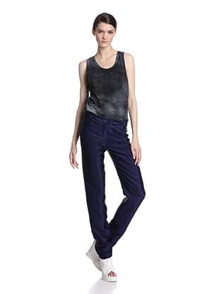 Ann Demeulemeester Women's Aspect Trousers (Blue)