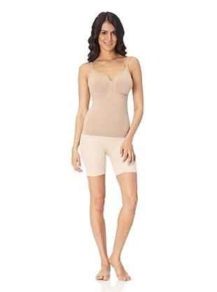 Body Wrap Camisole mit Bügel (Nude)
