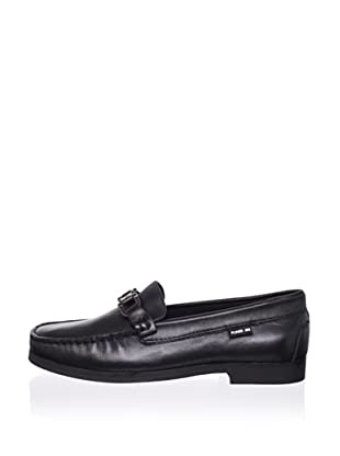 Pliner Jrs Maximo Loafer (Black Leather)