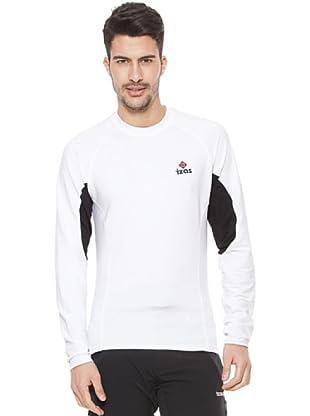 Izas Camiseta Térmica Fugen (Blanco / Negro)