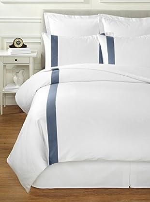 Bella Letto Doppio Duvet Set (White/Blue)
