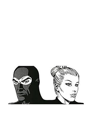 Artopweb Wandbild Astorina Insieme (Diabolik & Eva Kant) Bunt