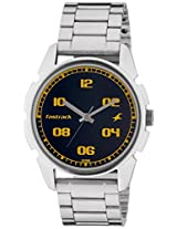 Fastrack Casual Analog Black Dial Men's Watch - 3124SM02