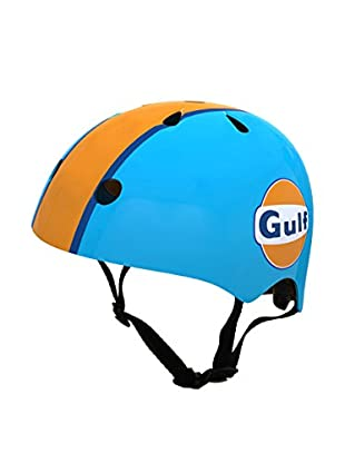 Kiddimoto Fahrradhelm Sport Heroes Edition Gulf Oil LeMans