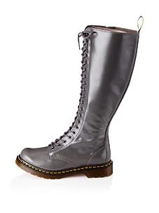 Dr. Marten's Women's 1B60 20-Eye Zip Boot (Grey)