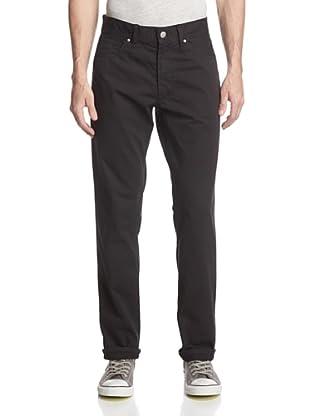 Halsey Men's Colby 5 Pocket Slub Pant (Black)