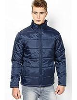 Navy Blue Full Sleeve Jacket