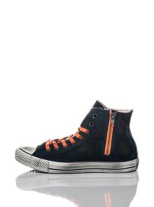 Converse Zapatillas All Star Side Zip (Azul / Naranja)
