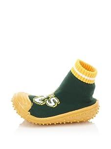 Skidders Oakland Athletics Shoe Socks (Green)