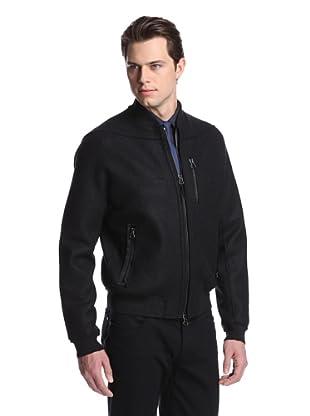 Lanvin Men's Blouson Bomber Coat (Black)