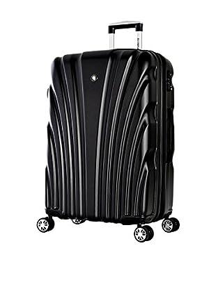 Olympia Vortex Large-Size Hardcase Spinner Bag, Shadow Black