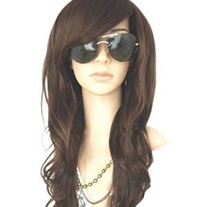 MelodySusie New Women's Full Long Curly/Wavy Hair Wig