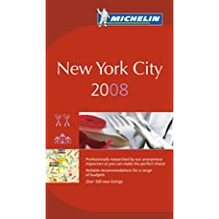 【クリックでお店のこの商品のページへ】Michelin Red Guide 2008 New York City (Michelin Guide New York City (Red Guide)) [ペーパーバック]