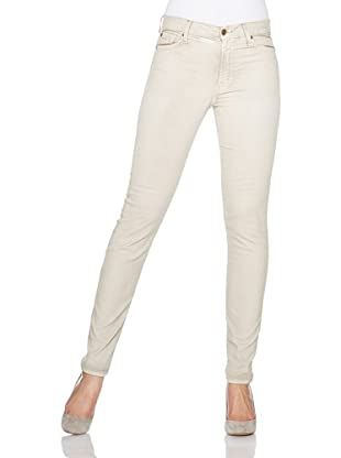 7 for all mankind Jeans Hw Skinny Wite (sprayed brown)