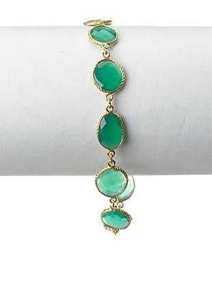 Saachi Green Onyx Multi-Stone Bracelet