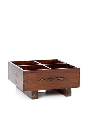 Antique Revival Rustic Milk Crate (Natural)