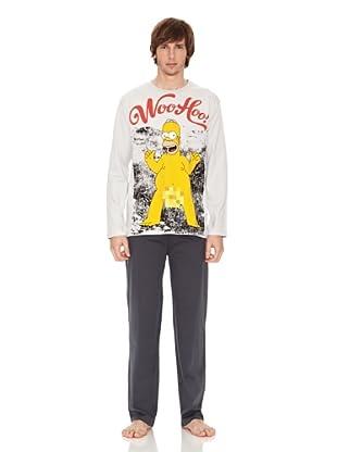 The Simpsons Pijama (Gris)