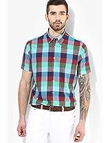 Blue Check Regular Fit Casual Shirt Tommy Hilfiger