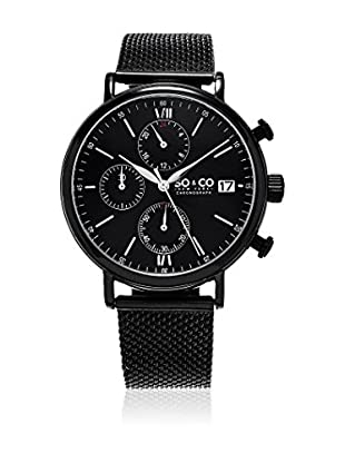 SO&CO New York Reloj con movimiento cuarzo japonés Man GP16093  42 mm
