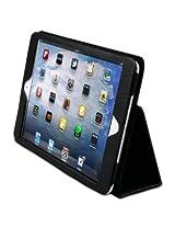 LUVVITT® 3D Slim Folio Case Cover for iPad MINI With Auto-Screen Sleep/Awake Function (LIFETIME WARRANTY) - Black