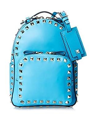 Valentino Women's Rock Stud Backpack, Light Blue