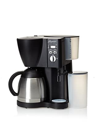 Capresso 10-Cup Coffee/Cappuccino Maker (Black)