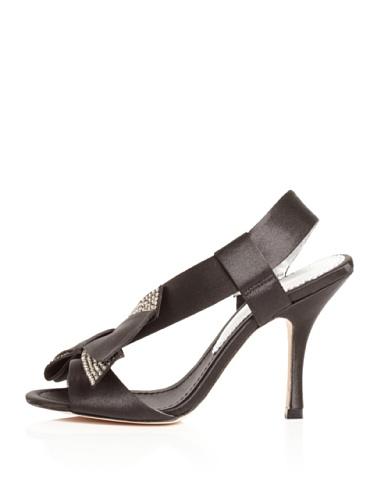 Bourne Women's Izabella Slingback Sandal (Black)