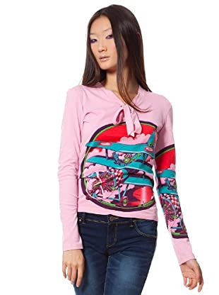 Custo Camiseta Plann (Rosa)