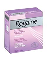 Rogaine Women's Hair Regrowth Treatment Unscented 3 ct.