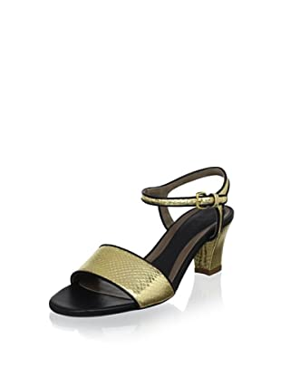 Marni Women's Sandal (Gold Sand/Coal)