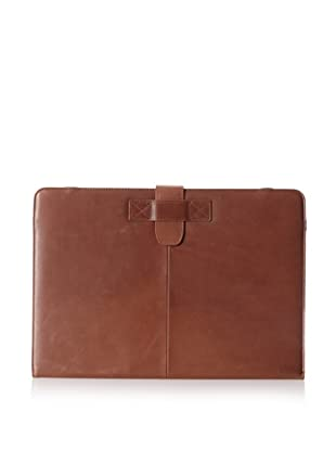 Decoded Bags Men's MacBook Pro 13-Inch Leather Slim Cover, Brown, One Size