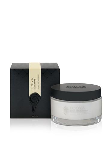 Ecoya Body Exfoliator in Vanilla Bean Fragrance, 6.7oz / 200ml