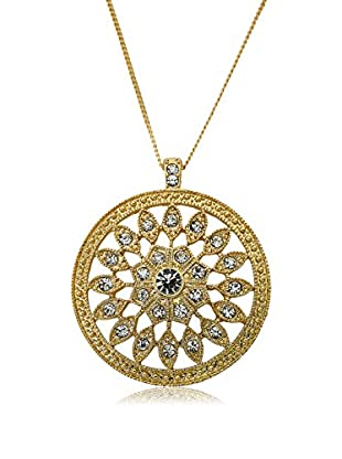 Riccova Country Chic Crystal Circle Pendant