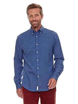 Cortefiel Camisa Oxford (Azul Marino)