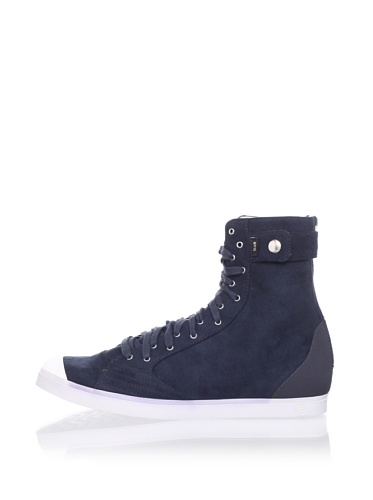 adidas SLVR Women's SLVR Fashion Mid II Sneaker (Navy)