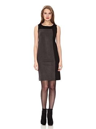 Assuili Vestido Bicolor (Negro / Gris)