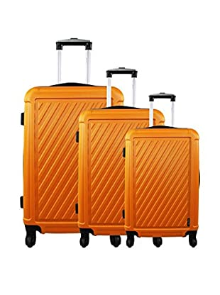 zifel Set de 3 trolleys rígidos C713 0.0 cm