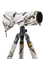 LensCoat LCRSLSN RainCoat RS for Camera and Lens, Large (Realtree AP Snow)