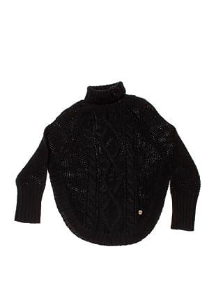 Pepe Jeans London Poncho Florette (Negro)
