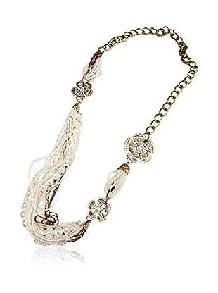 Alibey Accesorios Halskette  silberfarben
