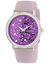Ed Hardy Women's LV-PU Love Bird Purple Watch