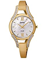 Seiko Golden Metal Analog Women Watch SUP216P1