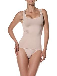 Cass Women's Scoop Skinny Top (Nude)