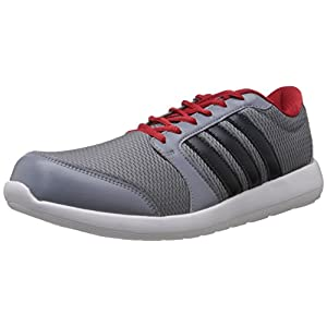 Adidas Men's Altros M Running Shoes - Grey and Red