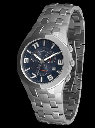 Sandoz 71549-03 - Reloj Col. Diver Crono Luminiscente azul marino